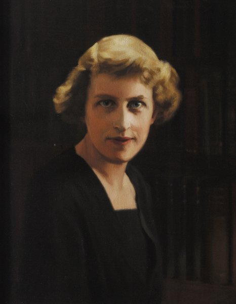 Portrait of Winifred Holtby