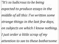 Letter to Joseph Dalby