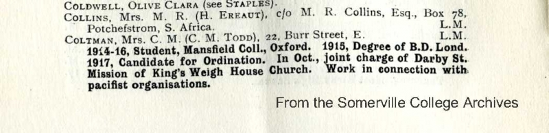 1917 SSA War Work List
