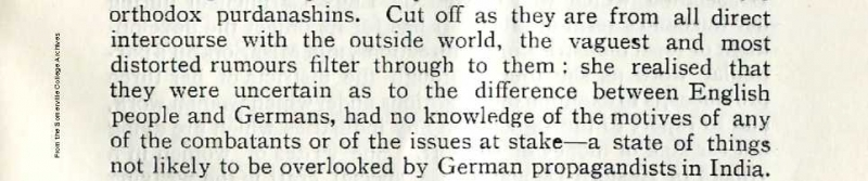Excerpt from the SSA Annual Report 1917