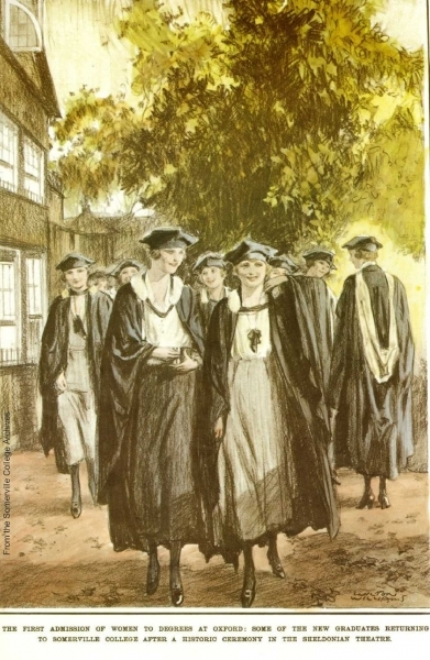 The First Women Graduates