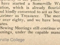 The Fritillary December 1916; the Somerville War Savings Association