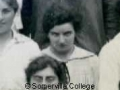 Enid Starkie from the 1917 College photograph