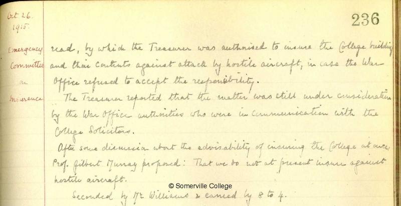 Council Minutes 26 October 1915