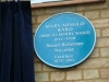 Blue Plaque re Mrs Humphry Ward