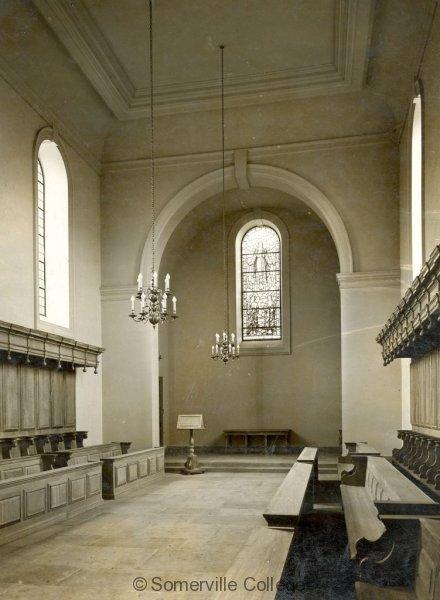 Chapel interior-1936