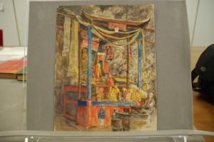 Buddhist shrine by E. G. Kemp