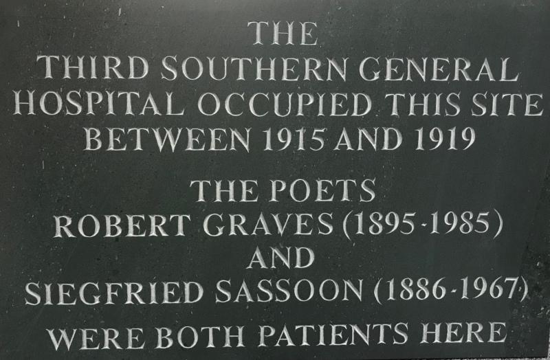 Great War Commemorative Plaque