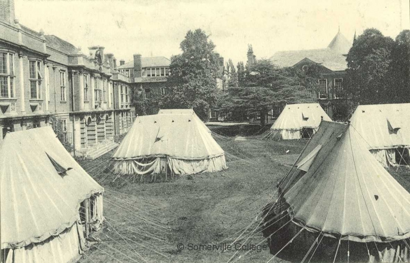 Tents in the Grounds